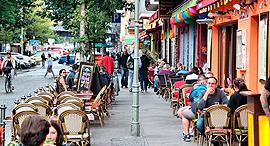 שכונת קרויצברג בברלין, צילום: שאטרסטוק