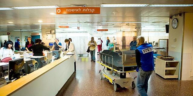 חדר מיון. מערכת הבריאות סובלת מתת־תקצוב, צילום: תומי הרפז
