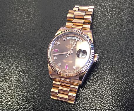 """שעון רולקס שמוצע למכירה, צילום: יח""""צ"""