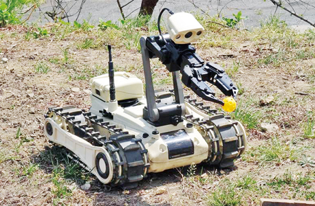Roboteam's MTGR unmanned ground vehicle. Photo: PR