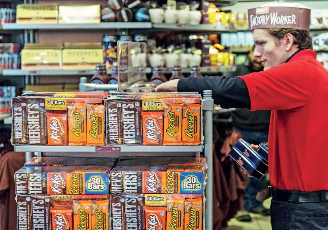 היריבות המרות בזירת הממתקים מביאות את הקרב לבית המשפט