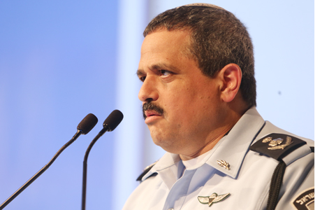 הוועידה הכלכלית הלאומית 2016 רב ניצב רוני אלשיך המפקח הכללי משטרת ישראל, צילום: נמרוד גליקמן