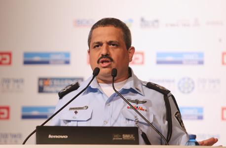 הוועידה הכלכלית הלאומית 2016 רב ניצב רוני אלשיך המפקח הכללי משטרת ישראל וידיאו, צילום: נמרוד גליקמן