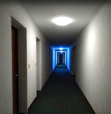 """מסדרונות המלון תוארו ע""""י המבקרים כ""""קרים, בסגנון סובייטי"""", צילום: Tripadvisor"""