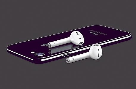 אוזניות אלחוטיות של אפל apple, צילום: apple