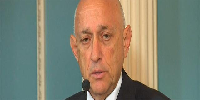 """יעקב נגל, מ""""מ ראש המטה לביטחון לאומי בטקס החתימה על הסכם הסיוע בארה""""ב"""