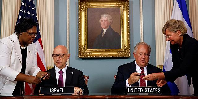 """לאחר חודשים ארוכים של מו""""מ: הסכם הסיוע הצבאי הגדול אי פעם נחתם בוושינגטון"""