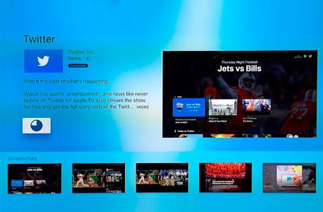 טוויטר אפליקציה ל טלוויזיה, צילום: Tim Perzyk_Twitter