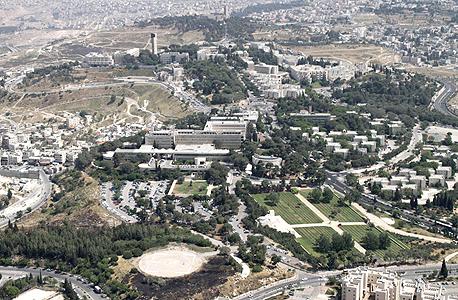 צילום אווירי של ירושלים