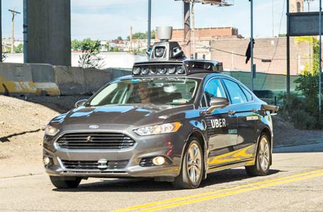 אובר רכב אוטונומי, צילום: איי אף פי