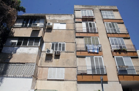 חזית הבניין, צילום: אוראל כהן