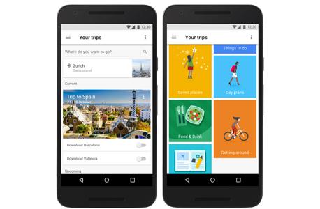 גוגל טריפס אפליקציה google trips, צילום: גוגל