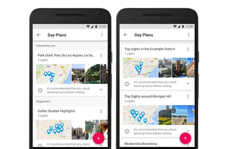 גוגל טריפס אפליקציה google trips 2, צילום: גוגל
