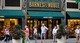 Barnes & Noble, New York. Photo: Bloomberg