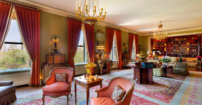 """הדירה הייתה במשך עשורים בבעלותו של ג'ון גוטפרוינד המנוח שכונה """"המלך של וול סטריט"""""""