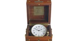 השעון שנתן הזמר פרנק סינטרה לרייגן לרגל השבעתו לנשיאות, צילום: Christie