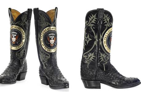 המגפיים הנשיאותיים, צילום: Christie