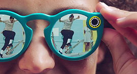 משקפי סנאפ, צילום: Youtube.com