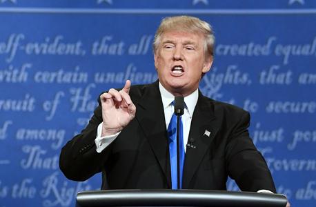 קלינטון טראמפ עימות 5, צילום: איי אף פי