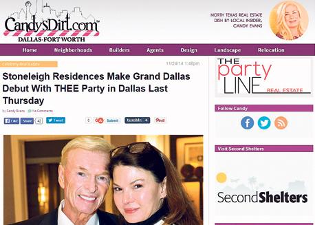ג'ין פיליפ ואשתו רוקסן מככבים באתרי הרכילות, במסיבה של עשירי טקסס