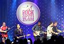 להקת רוק כלכליסט על הבמה, צילום: עמית שעל