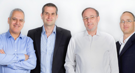 Karamba's co-founders David Barzilai, Assaf Harel, Ami Dotan and Tal Ben-David. Photo: PR