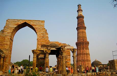מגדל קוטוב מינאר אמיתי הודו, צילום: AHLN