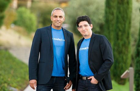 CodeFresh founders Raziel Tabib (left) and Oleg Verhovsky. Photo: PR