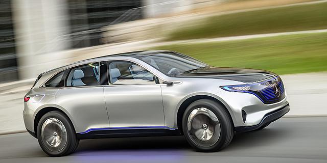 מירוץ חימוש חשמלי: מרצדס חשפה רכב שטח-כביש אוטונומי