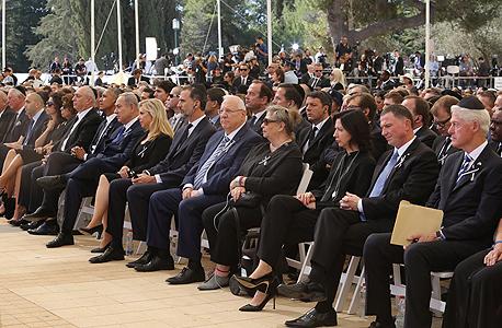 הר הצופים לוויה הלוויה של שמעון פרס, צילום: גיל יוחנן