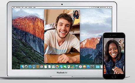 פייסטיים אפל facetime, צילום: Apple