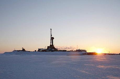 אסדת קידוח נפט באלסקה, צילום: Caelus Energy