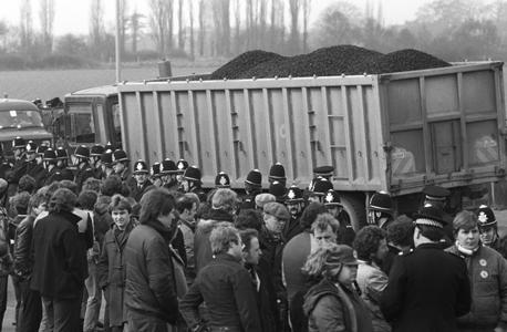 הפגנות כורי הפחם, צילום: גטי אימג