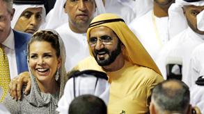 השייח' מוחמד בן ראשד אל מכתום ואשתו הנסיכה הייא, צילום: אי פי איי