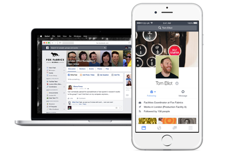 שירות פייסבוק Workplace