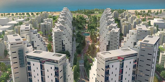 """פרי נדל""""ן רכשה קרקע בשכונת פארק הים בבת ים ב-133 מיליון שקל"""