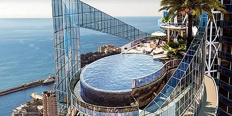 פנטהאוז מונקו הכי יקר בעולם מגדל אודיאון 1, צילום: Tour Odeon