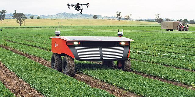 """מו""""פ עונת התפוזים: הטכנולוגיה העילית הבשילה ויוצאת לעבוד בשדה"""