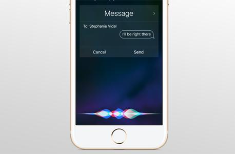 סירי, הסייעת הדיגיטלית של אפל. משתרכת מאחורי המתחרות, צילום: apple