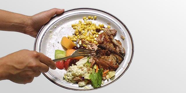 שליש מהמזון שמיוצר בעולם מושלך לפני שימוש; תראו מה אנחנו זורקים