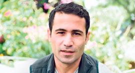 פנאי האלקוט מוסטפה במאי הסרט שייצג את עיראק באוסקר, צילום: Galit Rosen