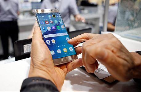 סמארטפון נוט 7 סמסונג ריקול, צילום: רויטרס