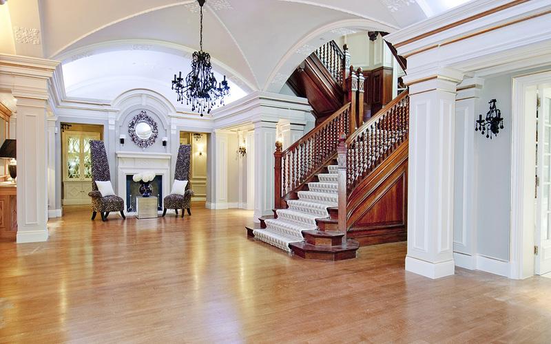 הכניסה לבית. דמי השכירות שישלם ביבר מקבילים למחצית משווי של בית ממוצע בבריטניה, צילום: glentree
