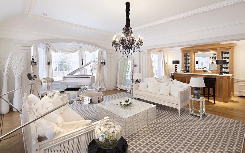חדר האורחים המעוצב, צילום: glentree