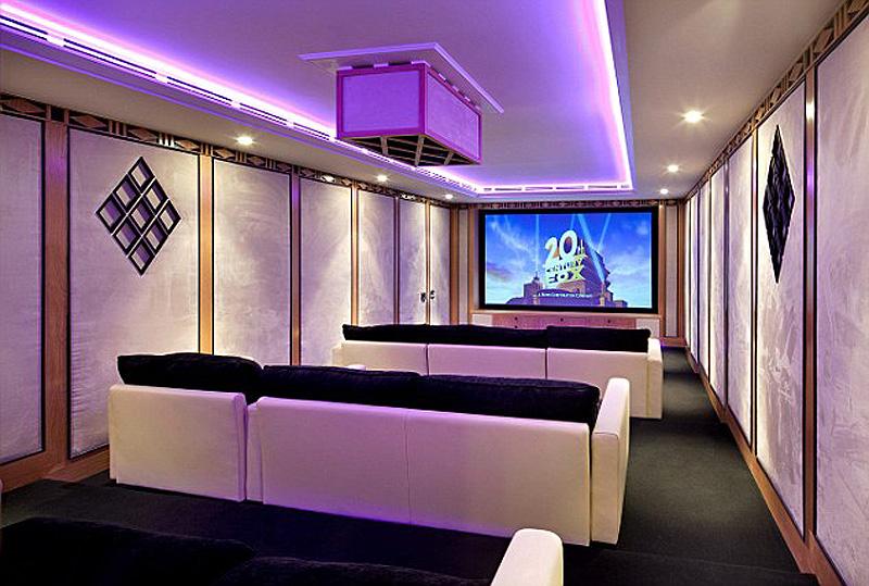 חדר הקולנוע הפרטי, צילום: glentree