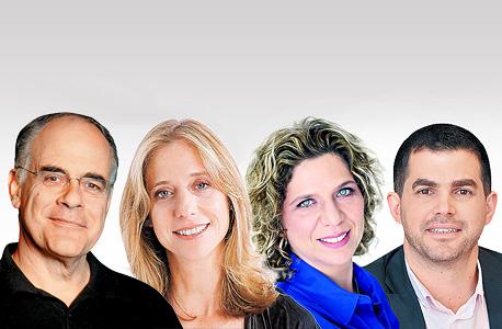 המשקיעים במובייל 2017: מימין אייל ניב, מירב וינרב, רונה שגב גל ושמיל לוי