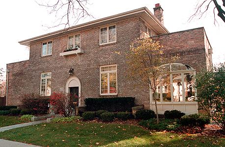 בית ילדותה של הילרי קלינטון בפארק רידג