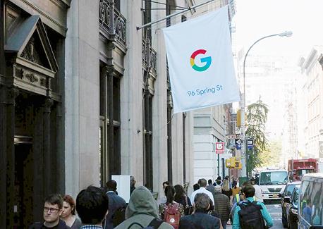 גוגל חנות פופ-אפ ניו יורק, צילום: Ben Gilbert / Business Insider