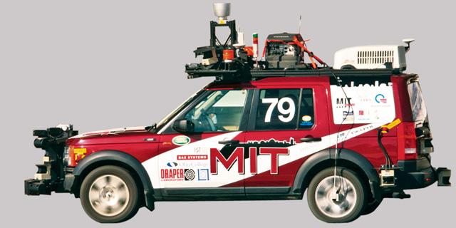 """רכב שפיתחו אדווין אולסון ועמיתיו לתחרות ב-2007. """"רכב נפלא, אבל כמעט מגוחך"""""""