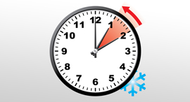 שעון החורף, צילום: shutterstock
